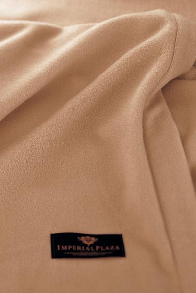 東京西川 インペリアルプラザ ホワイトカシミヤ毛布 ダブルサイズ 180×210センチ 日本製(泉大津)ホワイトカシミヤ使用