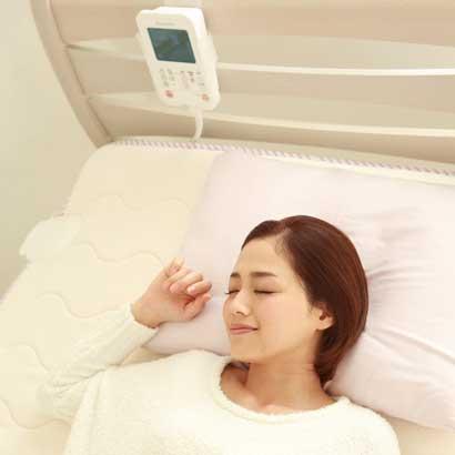西川 家庭用電位治療器 リケア Recare 電位治療と電磁波カットの加温でやさしい遠赤外線のあたたかさ 身体全体をしっかりサポートして 理想の寝姿勢 ss80 80×200センチ