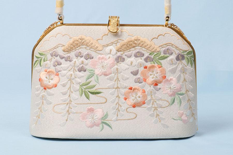 着物 バッグ 和装用 衿秀 綴れ 刺繍 訪問着 高級 上質 フォーマル 単品 大人 女性 新品 着物用バッグ