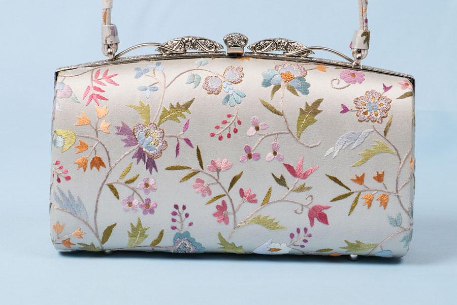 着物 バッグ 和装用 大原商店 刺繍 訪問着 高級 上質 フォーマル 単品 大人 女性 新品 着物用バッグ