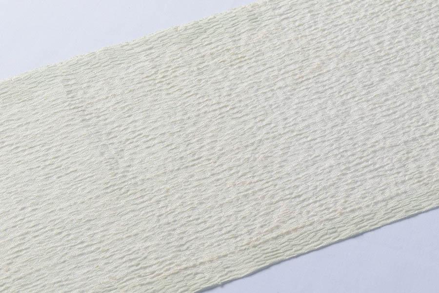 加藤萬 麻の葉模様の絞り入り 半衿
