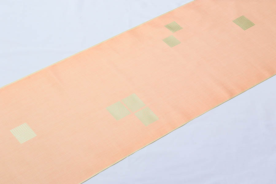 【ゴールデンウィーク10%off】着物 雨コート 反物 雨の日 雨 雪 西陣織 幾何学模様 正絹 ちりよけ 撥水加工 未仕立て 防水加工