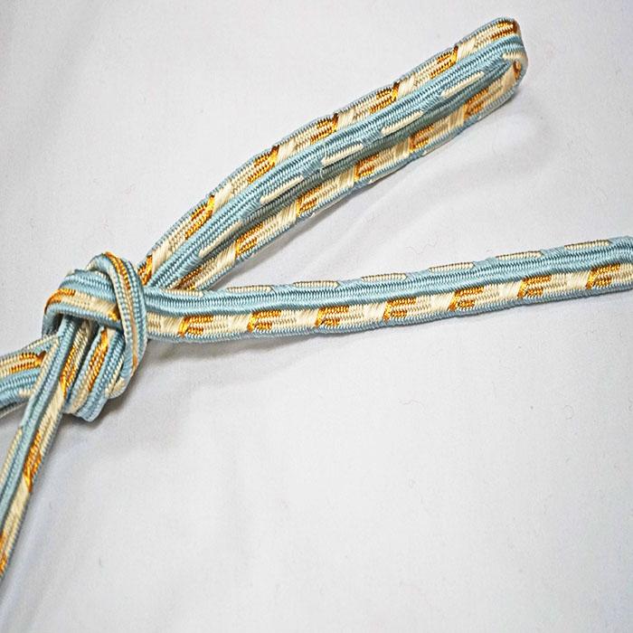 【ゴールデンウィーク10%off】帯締め 帯〆 正絹 龍工房 フォーマル 訪問着 付下げ 金 袋帯