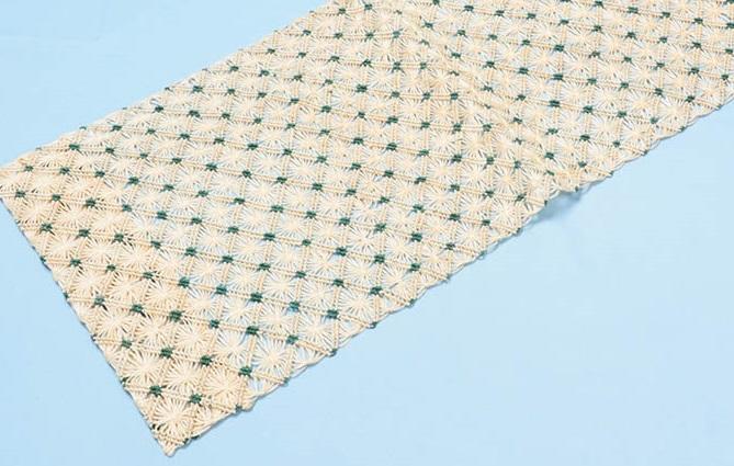 誉田屋 糸・芭蕉糸で織られた羅の名古屋帯