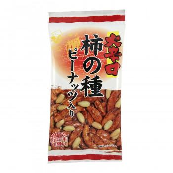 【代引き不可】タクマ食品 大辛口柿の種ピーナッツ入 6×24個入