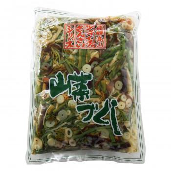 惣菜 レトルト アレンジ自在の食材 代引き不可 山菜づくし味付 1kg×15個 山一商事 出色 29245 市販