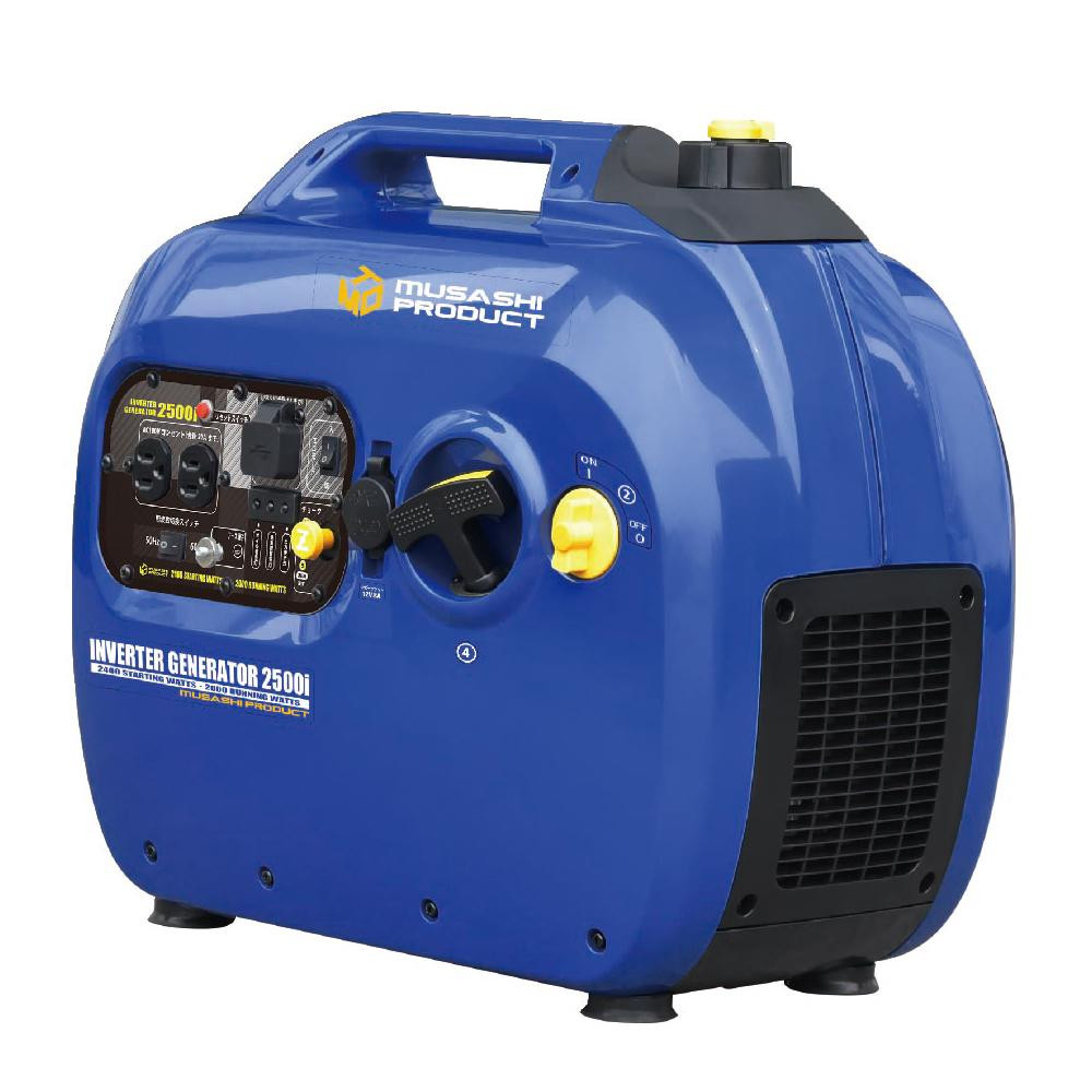【代引き不可】インバーター発電機 ING2500i