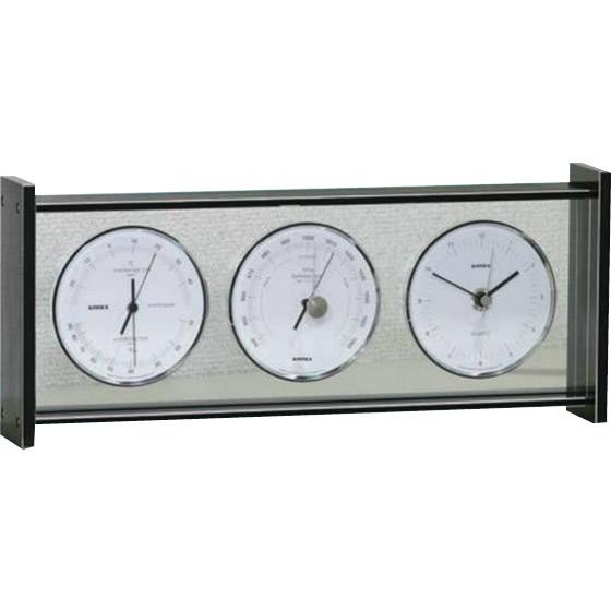 ガーデニング・花・植物・DIY/機能を極めたシンプルで美しい気象計。 EMPEX(エンペックス気象計) スーパーEX ギャラリー気象計・時計 EX-793
