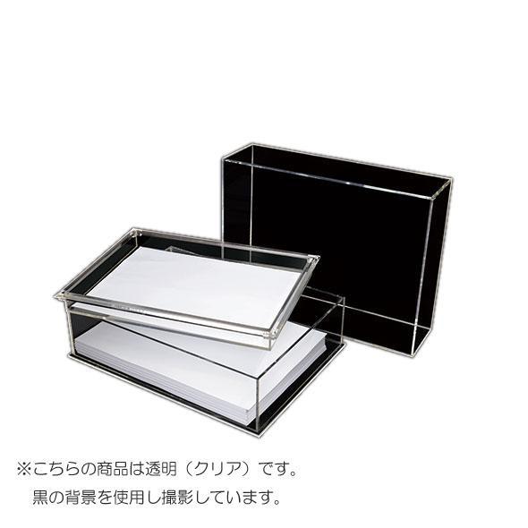 ついに再販開始 オフィス収納 高級感あるアクリル決済箱 アクリル決済箱 CRC8503 ●日本正規品● A6 中蓋付