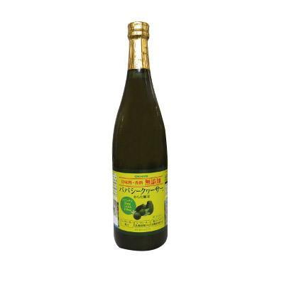 【代引き不可】沖縄ハム(オキハム) 甘味料・香料無添加パパシークヮーサー 720ml×12本 15035060