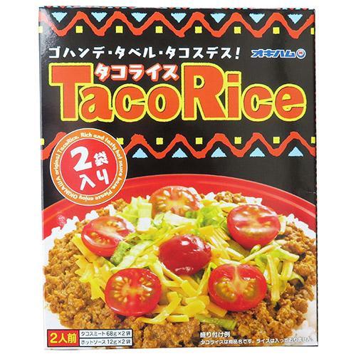 【代引き不可】沖縄ハム(オキハム) タコライス2食入 68g×30個 13050201