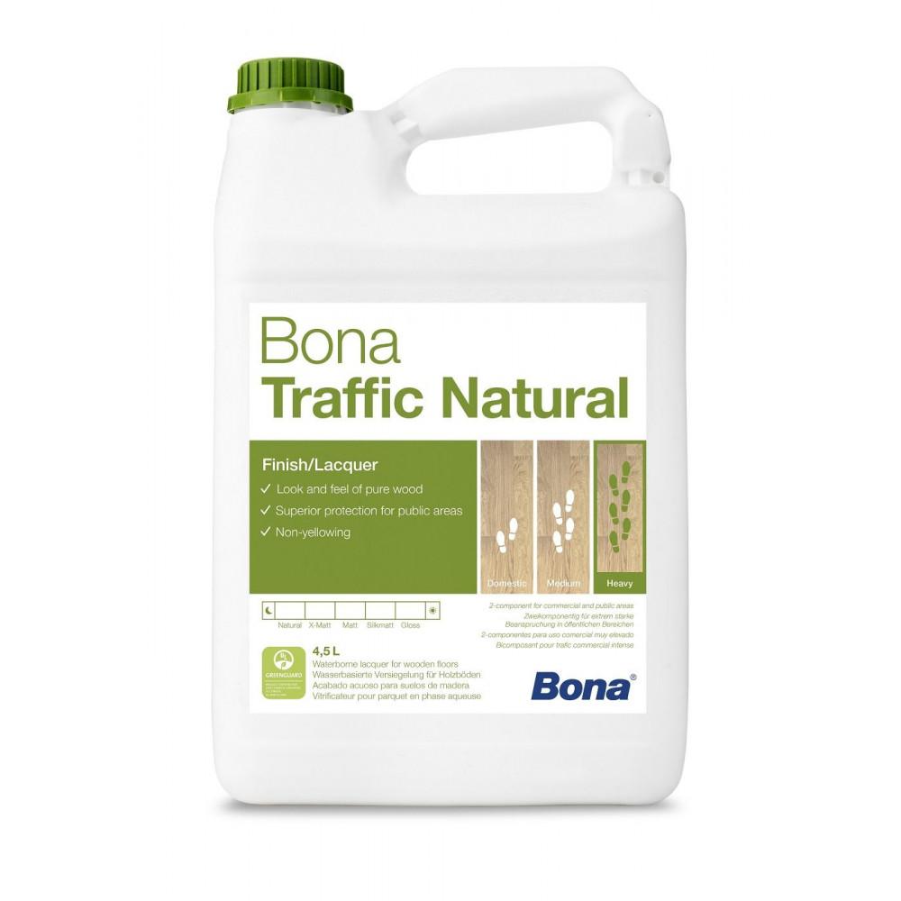 【代引き不可】塗料 水性仕上剤 Bonaトラフィックナチュラル(硬化剤付) ウルトラマット WT190646001