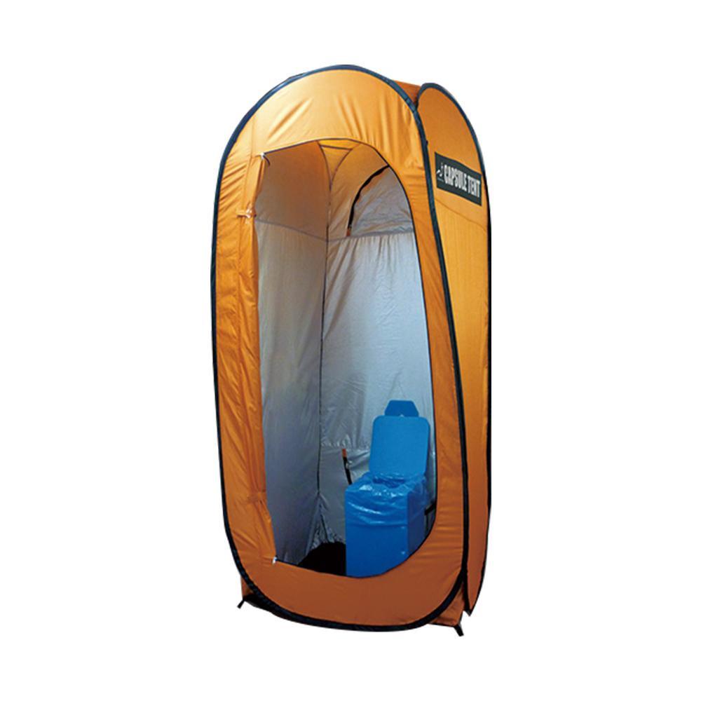 どこにでもワンタッチで設置可能! カプセルテント CAPSULE TENT 防災トイレ3点セット BR-990