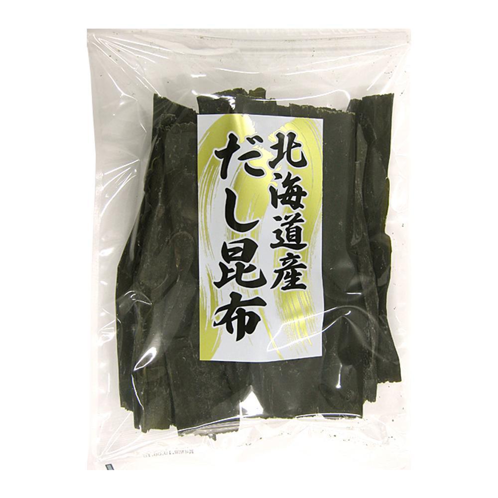 【代引き不可】日高食品 北海道産だし昆布 200g×15袋セット