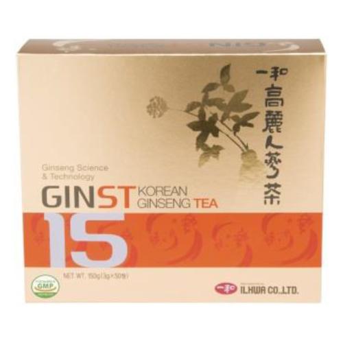 ジンスト15高麗人参茶 3g×50包  2箱セット