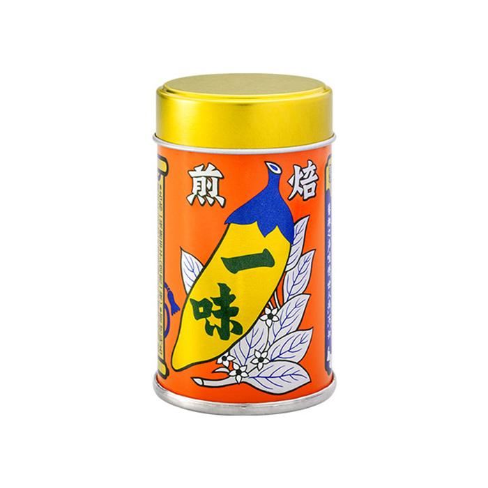 八幡屋礒五郎焙煎一味唐辛子缶12g(信州長野のお土産 善光寺八幡屋礒五郎)