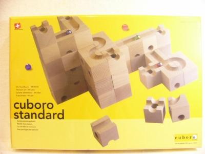 【2020年12月以降入荷予定分】キュボロ スタンダード ビー玉5個と入門書付き【正規輸入品】(cuboro)【送料無料】玉の道 積み木 ピタゴラスイッチ ラッピング無料