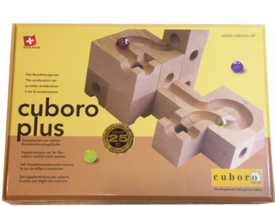 【2019年8月ごろ入荷予定分】キュボロ プラス(Cuboro・Plus) 積み木【正規輸入品】