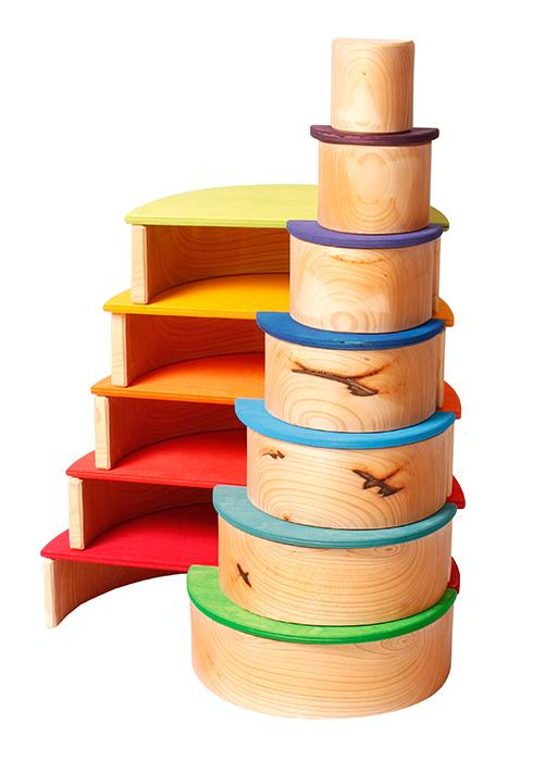 グリムス・ナチュラルアーチBogenspielNatur【送料無料】木のおもちゃラッピング無料出産祝い2歳3歳4歳おもちゃ