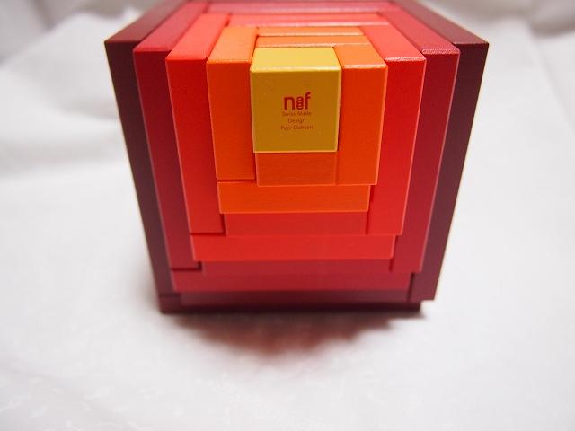 ネフ社の積み木 セラ 赤 木箱付き【送料無料】