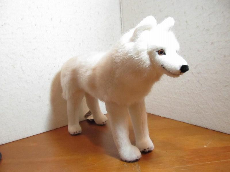 【あす楽対応】ケーセン社ぬいぐるみ・ホッキョクオオカミ・立ち(Polar wolf,standing)【送料無料】