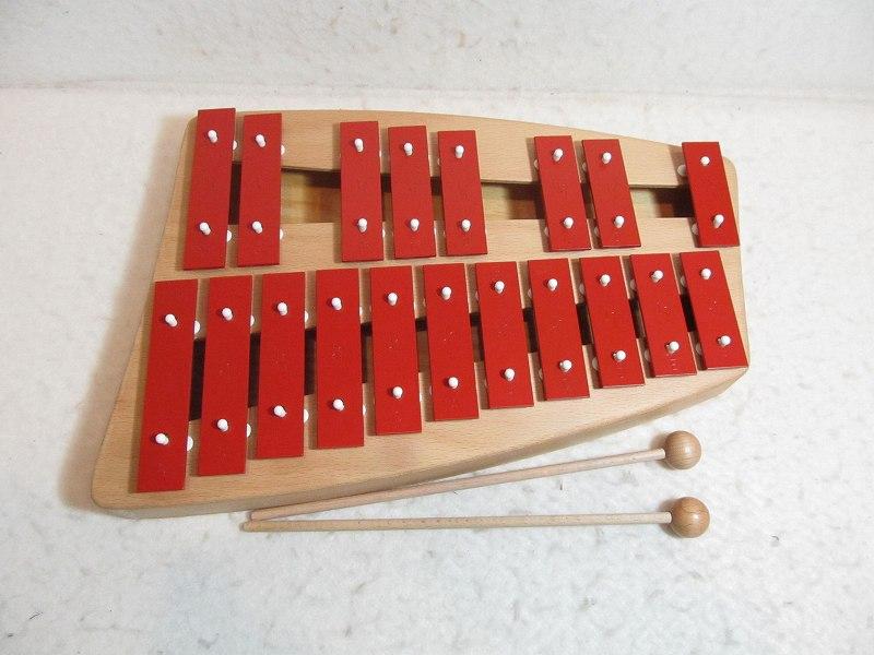 鉄琴 二段メタルフォン(送料無料) ゾノア ドイツ 楽器 グロッケン【送料無料】【楽ギフ_メッセ入力】