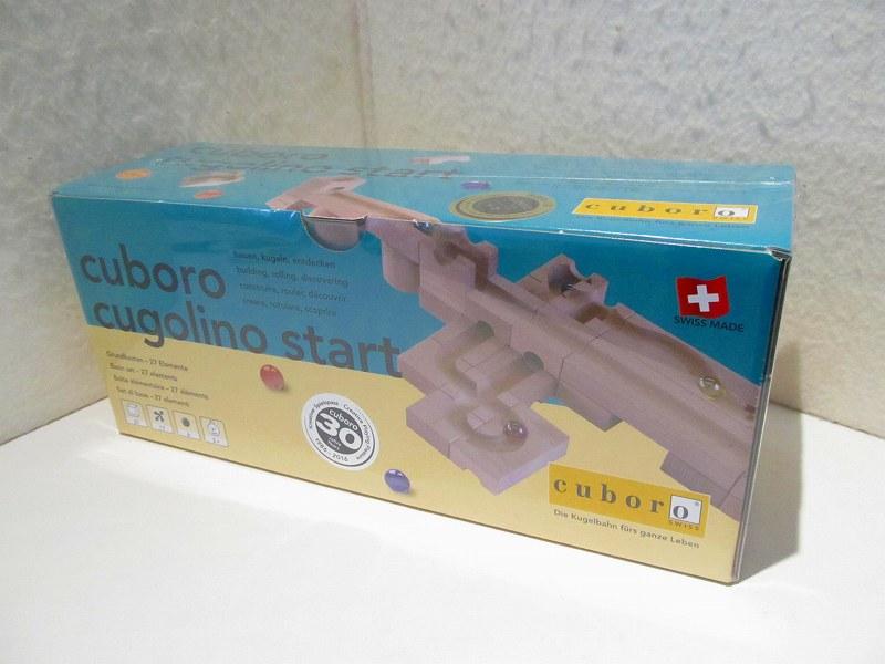 クゴリーノ・スタート(cuboro)【送料無料】Cuboro木のおもちゃ・積み木玉落としビー玉転がし