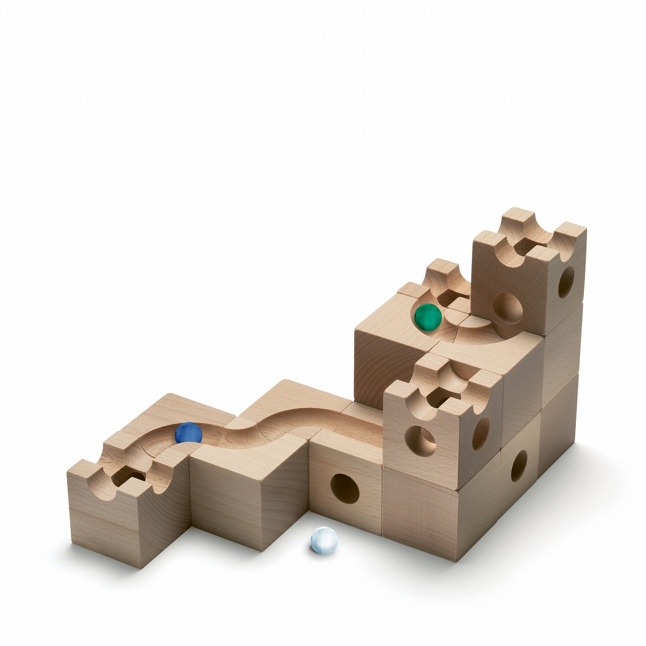 【2021年9月発売予定】キュボロ・トンネルCuboroTunnel【正規輸入品】(cuboro)玉の道積み木ピタゴラスイッチラッピング無料