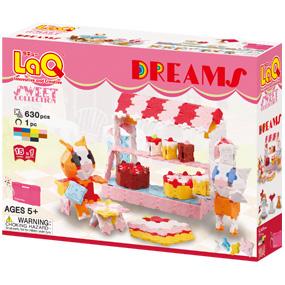 ラキュー スイートコレクション 安売り 新登場 ドリームズ LaQ Dreams Sweet Collection