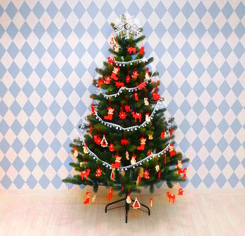 【2020年11月上旬入荷予定分】クリスマスツリー150cm【オーナメントは別売り】RSGLOBALTRADE社(PLASTIFLOR社)アトリエニキティキ