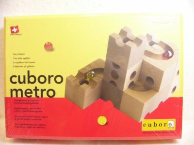 キュボロ・メトロ(cuboro・metro)木のおもちゃ・玉の道【送料無料】