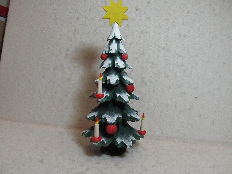 大きなクリスマスツリー・ウルミック工房(23cm)
