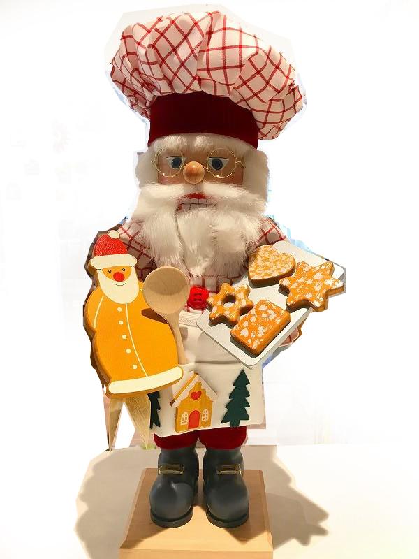 くるみ割り人形(限定) パン屋のサンタ【2016年1000体限定】 ウルブリヒト工房 Gingerbread Santa