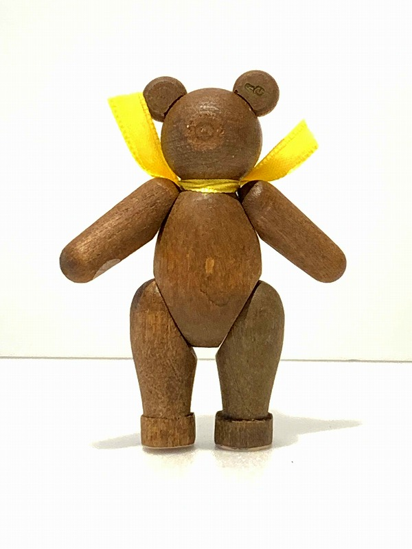 ザイフェンリヒャルド・グレイサー木製のテディベア(手足の動くクマ)ブラウンエルツ地方クリスマスギフト