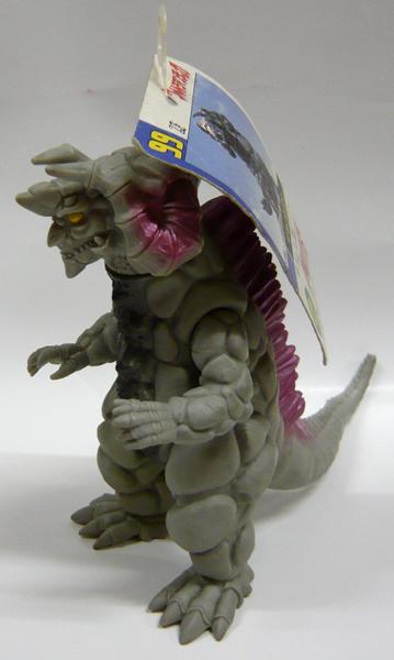 奥特曼超怪物 99。 超薄的怪物 silvergon