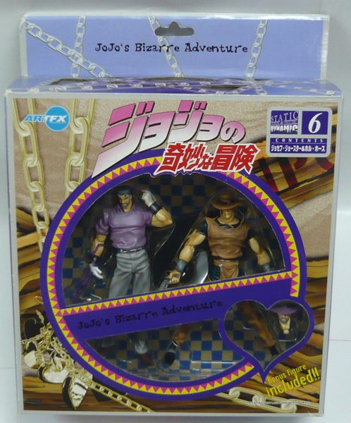 Kotobukiya ARTFX Jojo's bizarre adventure 6. Joseph joestar & hol horse