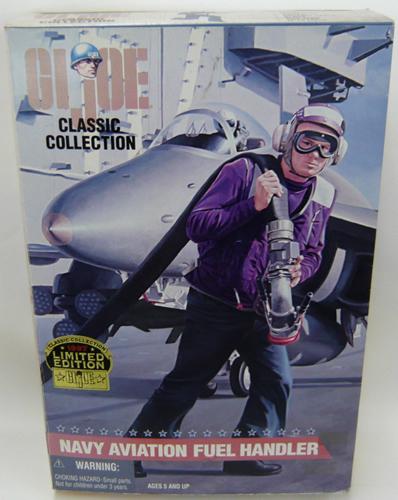 【送料無料】G.I.JOE (GIジョー) クラシックコレクション 【NAVY AVIATION FUEL HANDLER】1997リミテッドエディション