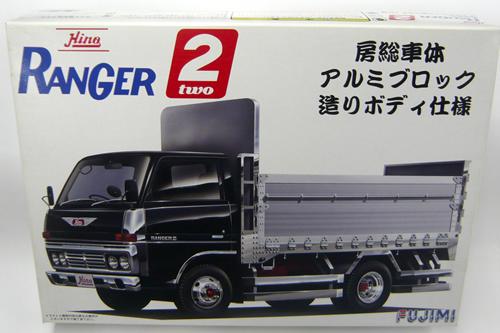 【送料無料】1/32 トラック TR6「日野レンジャー2 房総車体アルミブロック造りボディ仕様」フジミ プラモデル