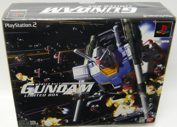 【送料無料】【新品】PS2ソフト「機動戦士ガンダム めぐりあい宇宙 LIMITED BOX 限定版」