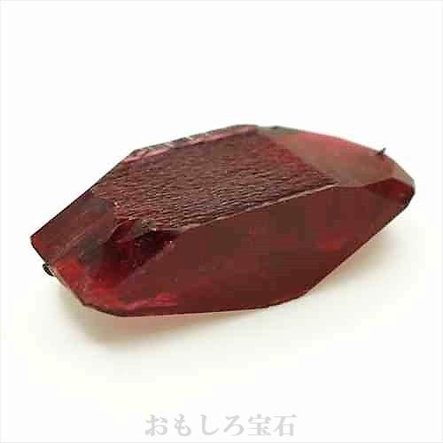 【合成結晶】合成レッド ベリル(Bixbite/ビクスバイト) Synthetic Red Beryl  約21g 【ロシア製】【人工宝石】【合成宝石】【送料無料】No,6