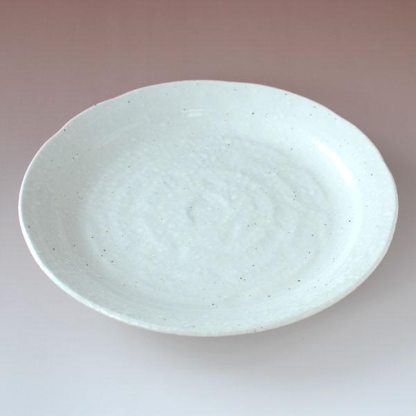 大皿 70皿 パスタ皿 盛皿 プレート 白 粉引き 雪粉引 売り込み 期間限定お試し価格 器 業務用 岐阜県 食器 和 美濃焼