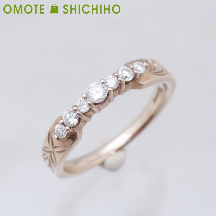 Kahuna カフナ ダイヤモンド K10 #13 リング イエローゴールド レディース 指輪【中古】【005】
