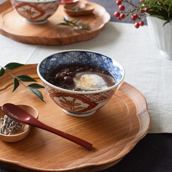 お中元 萌窯 赤絵 飯碗│もえがま ごはん茶碗 九谷焼 人気 おすすめ