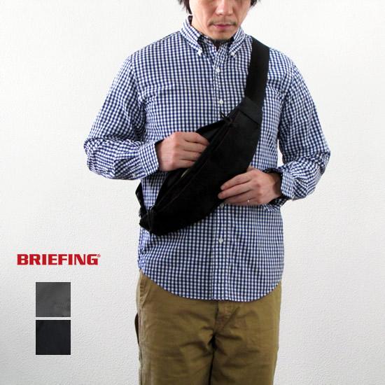 BRIEFING ブリーフィング TRIPOD トライポッド ボディバッグ /ウエストバッグ【RED RABEL】
