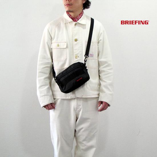 BRIEFING ブリーフィング ZIP LINER SL PACKABLE ジップライナーSLパッカブル ショルダーバッグ