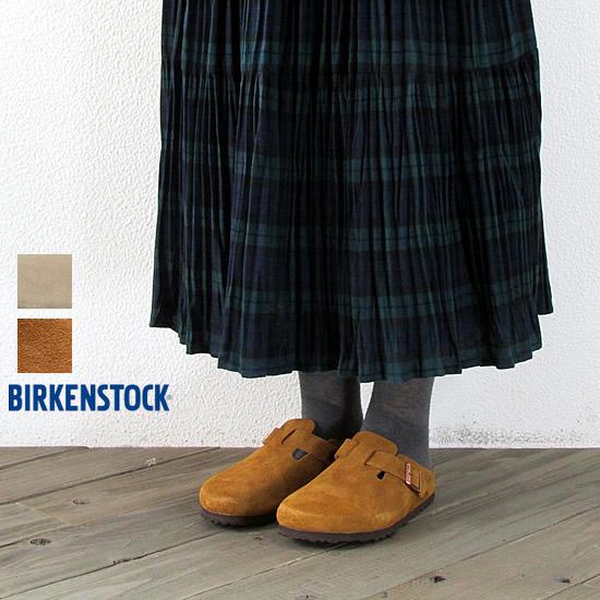 BIRKEN STOCK ビルケンシュトック レディース ボストン スエード ソフトフットベッド BOSTON