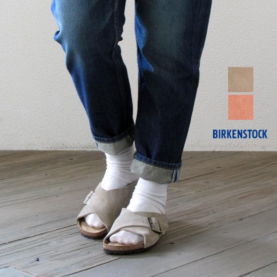 BIRKENSTOCK ビルケンシュトック レディース アロ-サ Arosa ソフトフットベッド スエードレザー (ナロー幅:幅狭)