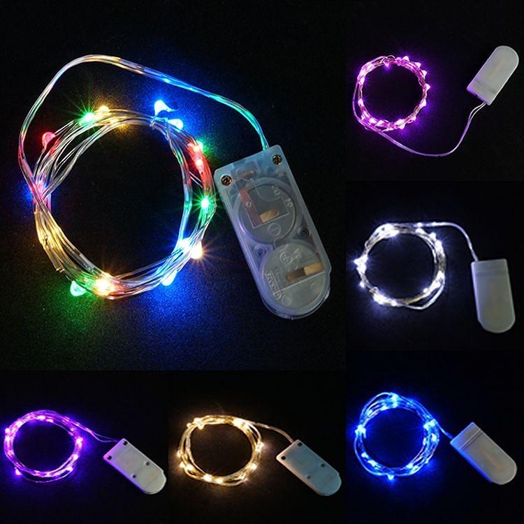 クリスマスやパーティーに便利なルミネーションライト イルミネーションライト 3個セット LED 防水 国内在庫 2m 20灯 装飾 電飾 パーティー 海外 メール便対応 クリスマス 結婚式 PR-ILLUMI20 屋外 ガーデンライト 屋内