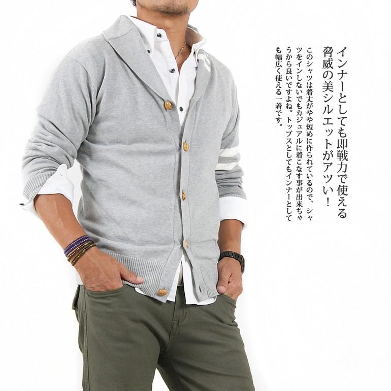 襯衫長袖子日本製造牛津按鈕降低襯衫(GW-A5403)人頂端襯衫到達內部按鈕降低襯衫國產長袖子襯衫簡單素色牛津襯衫休閒的形式上的襯衫辦公室工作遊戲襯衫