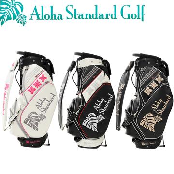 アロハ スタンダード(AlohaStandard) トーナメント仕様スタンド式バッグ 9型 キャディバッグ(602シリーズ)